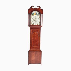 Antique Oak & Mahogany Grandfather Clock from W Prior Skipton