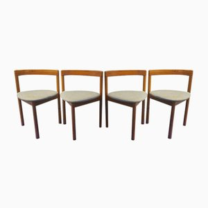 Mid-Century Dining Chairs by Hans Olsen for Frem Røjle, Set of 4