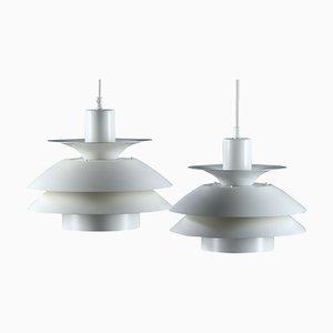 Lampes à Suspension Vintage Top Lamper, Danemark, Set de 2