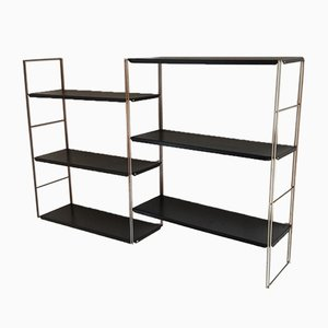 Gold and Black Shelf from String, 1960s