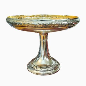 Scodella vintage placcata in argento
