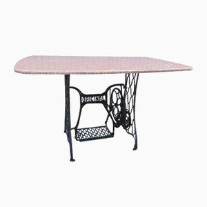 Antique Art Nouveau Marble Table