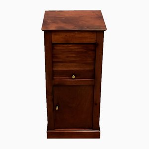 Small 19th Century Directoire Style Solid Birch Nightstand