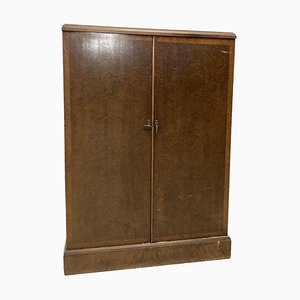 Art Deco Oak Wardrobe from Compactom, London, 1930s