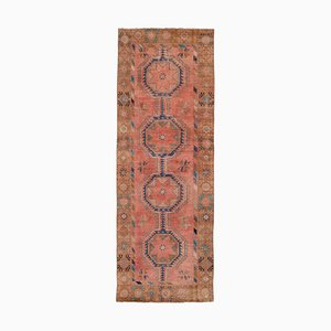 Vintage Turkish Overdyed Oushak Runner Rug, 1970s