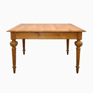 Antique Pine Dining or Kitchen Table