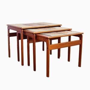 Tables Gigognes de Trioh, Danemark, 1960s, Set de 3