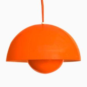 Lampada Flowerpot di Verner Panton per Louis Poulsen, anni '60