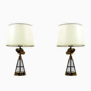 American Table Lamps, 1940s, Set of 2