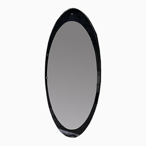 Large Vintage Oval Mirror, 1950s