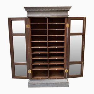 19th Century Showcase with Patina