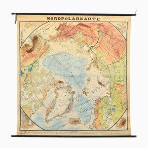 Mapa del Polo Norte, años 30