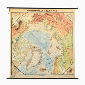 North Pole Map, 1930s