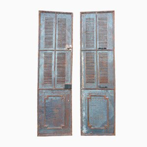 19th Century Iron Doors, Set of 2