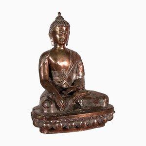 Vintage Nepalese Bronze Shakyamuni Buddha