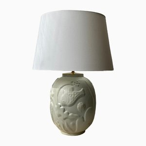 Ceramic Table Lamp by Anna-Lisa Thomson for Upsala-Ekeby, 1940s
