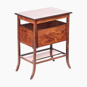 Antique Inlaid Rosewood Centre Table