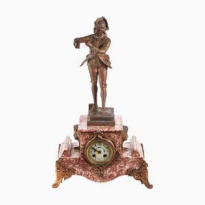 Französische Antike Rouge Uhr