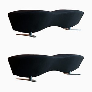 Voluptuous HM88 Benches by Chijioke Aguh for Hitch Mylius, 2003, Set of 2