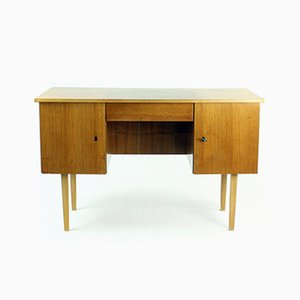 Mid-Century Writing Desk in Teak, Czechoslovakia, 1960s