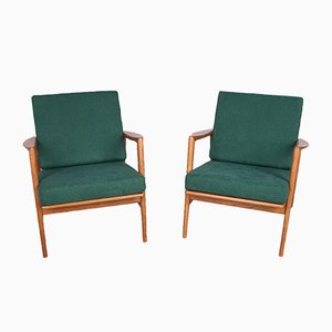 Model 300-139 Armchairs from Swarzedzka Furniture Factory, 1960s, Set of 4