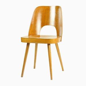 Moderne Mid-Century Stühle aus Buche von Oswald Haerdtl für Ton, 1960er, 2er Set