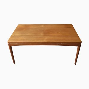 Swedish Teak Coffee Table with Extension, 1960s