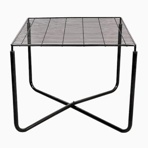 Postmodern Black Jarpen Table by Niels Gammelgaard for Ikea, 1983