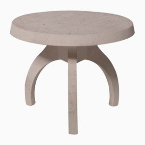 Concrete Table with Tripod Base, Italy, 1960s