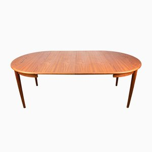Danish Teak Extendable Dining Table by Johannes Andersen for MSK Møbler, 1960s