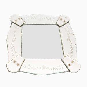 Französischer Vintage Spiegel im venezianischen Stil, 1930er
