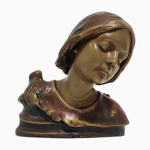 Jugendstil Nymphen Skulptur von Esteva & Cia Barcelona, 1900er
