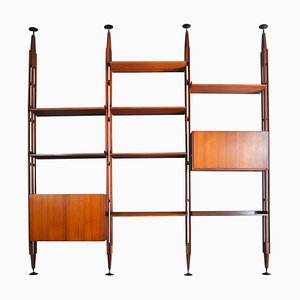 LB7 Bookcase by Franco Albini for Poggi, 1950s