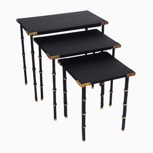 Nesting Tables by Jacques Adnet, 1950s