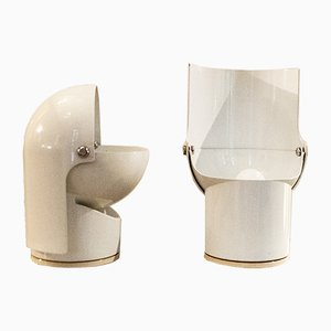 Pileino Table Lamps by Gae Aulenti for Artemide, Italy, 1972, Set of 2