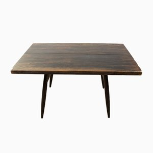 Scandinavian Beech Dining Table by Ilmari Tapiovaara for Laukaan Puu, 1980s