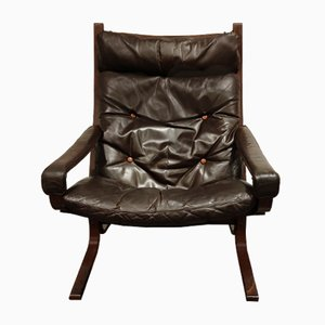 Mid-Century Rosewood Armchair by Ingmar Relling for Westnofa, 1970s