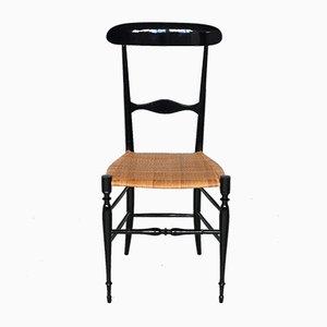 Campanino Stuhl von Colombo Sanguineti für Sedie e Mobili Sanguineti, Chiavari, Italien, 1950er