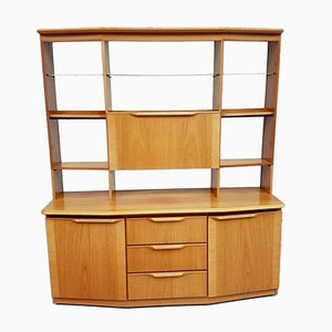 Mid-Century Wall Shelving Unit