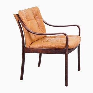 Rosewood Armchair by J.M. Birking Copenhagen, 1960s