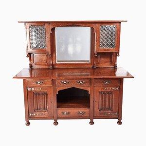 Antique Oak Arts & Crafts Sideboard