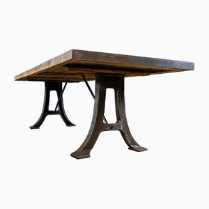 Industrial Robust Table from Vloer Tabaksfabriek
