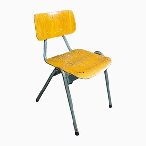 Vintage Dutch Chair by Kho Liang Ie