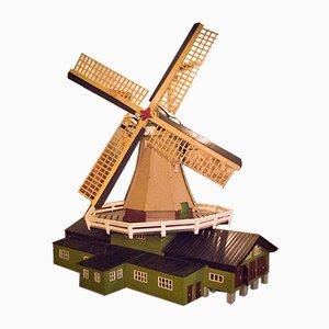 Wooden Scale Sawmill Model