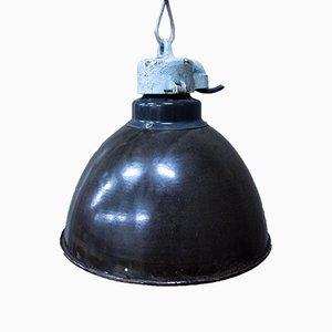 Industrial Black Enamel Ceiling Lamp