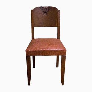 Art Deco Stühle, 4er Set