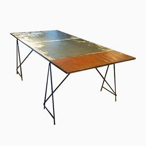 Großer Industrieller Tisch von Frits Jeuris