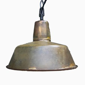 Vintage Brass Pendant Lamp