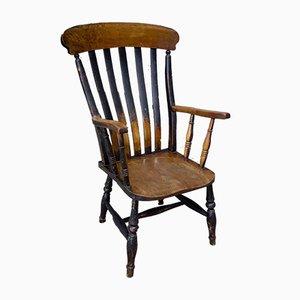 Antique English Captain Chair