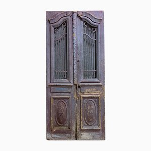 Large Antique Egyptian Doors, 1900s